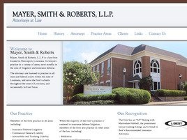 Mayer, Smith & Roberts, L.L.P. Law Firm Logo