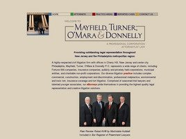 Mayfield, Turner, O'Mara & Donnelly PC Law Firm Logo