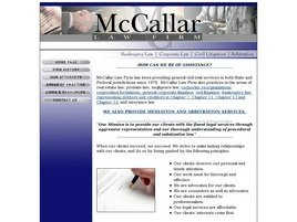 Firm Logo for McCallar Law Firm