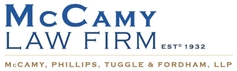 McCamy, Phillips, Tuggle & Fordham, LLP Law Firm Logo