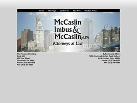 McCaslin, Imbus & McCaslin <br />A Legal Professional Association Law Firm Logo