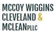 Firm Logo for McCoy Wiggins Cleveland McLean PLLC