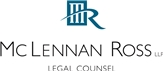 Firm Logo for McLennan Ross LLP