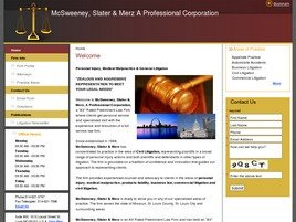 Firm Logo for McSweeney Slater Merz A Professional Corporation