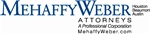 MehaffyWeber, P.C. Law Firm Logo