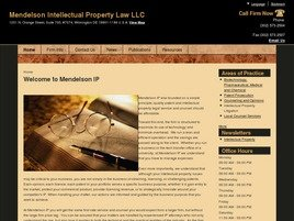 Firm Logo for Mendelson Intellectual Property Law LLC