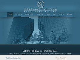 Menekshe Law Firm Law Firm Logo
