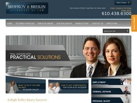 Meshkov & Breslin Law Firm Logo