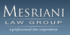 Mesriani Law Group <br />A Professional Law Corporation Law Firm Logo