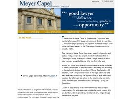 Firm Logo for Meyer Capel <br />A Professional Corporation