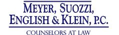 Meyer, Suozzi, English & Klein, P.C. Law Firm Logo