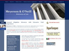 Meyerson & O'Neill Law Firm Logo