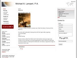 Firm Logo for Michael A. Lampert, P.A.