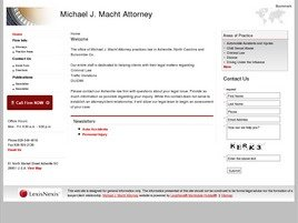 Firm Logo for Michael J. Macht Attorney