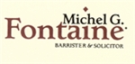 Firm Logo for Michel G. Fontaine <br />Barrister and Solicitor