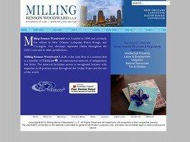 Milling Benson Woodward L.L.P. Law Firm Logo