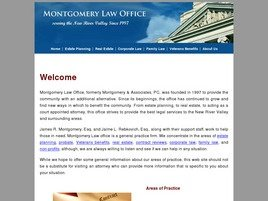 Firm Logo for Montgomery Law Office