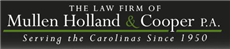 Mullen Holland & Cooper P.A. Law Firm Logo
