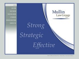 Firm Logo for Mullin Allen Steiner PLLC Trial Lawyers