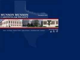 Firm Logo for Munson Munson Cardwell Tillett P.C.