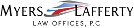 Myers Lafferty Law Offices, P.C. Law Firm Logo