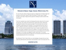 Nason, Yeager, Gerson, White & Lioce, P.A. Law Firm Logo