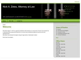 Firm Logo for Nick A. Zotos Attorney at Law
