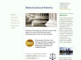 Firm Logo for Niswanger Law Firm PLC