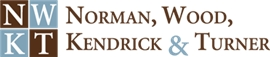 Norman, Wood, Kendrick & Turner Law Firm Logo
