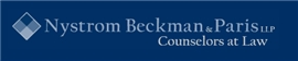 Nystrom Beckman & Paris LLP Law Firm Logo