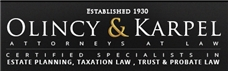 Olincy & Karpel Law Firm Logo