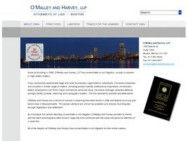 O'Malley and Harvey, LLP Law Firm Logo
