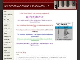 Oshins & Associates, LLC Law Firm Logo