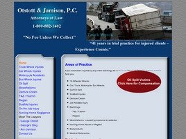 Otstott & Jamison, P.C. Law Firm Logo