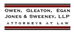 Owen, Gleaton, Egan, <br />Jones & Sweeney, LLP Law Firm Logo