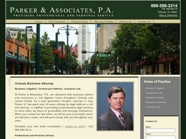 Firm Logo for Parker Associates P.A.