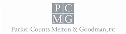 Parker Counts Melton & Goodman, PC Law Firm Logo