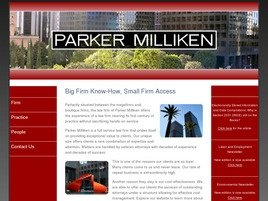 Firm Logo for Parker Milliken Clark OHara Samuelian A Professional Corporation