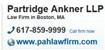Partridge Ankner LLP Law Firm Logo