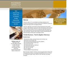 Pathman Lewis, LLP Law Firm Logo