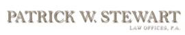 Firm Logo for Patrick W. Stewart Law Offices P.A.