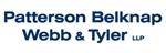 Patterson Belknap <br />Webb & Tyler LLP Law Firm Logo