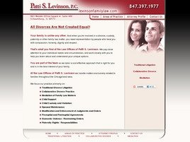 Firm Logo for Patti S. Levinson P.C.