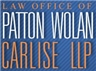 Patton •Wolan •Carlise LLP Law Firm Logo