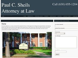 Firm Logo for Paul C. Sheils Attorney at Law