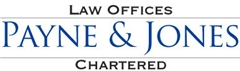 Payne & Jones, Chartered Law Firm Logo