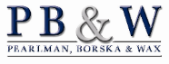 Pearlman, Borska & Wax Law Firm Logo