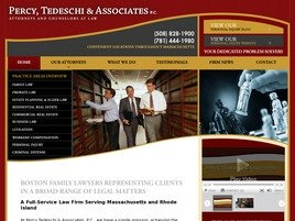 Firm Logo for Percy, Tedeschi & Associates, P.C.