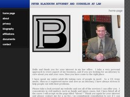 Peter Blackburn Attorney & Counselor at Law