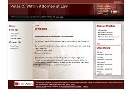Firm Logo for Peter C. Wittlin Attorney at Law